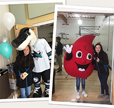 Turn Up In Teal Wellness Fair & Blood Drive